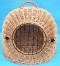 Buda wiklinowa zamkniêta. 45x36wys. 36, ¶rednica otworu 20 cm