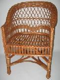 Fotel wiklinowy firmowy. 59x60x42/82, siedzisko: szer.44, g³êb. 43