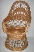 Fotel na koszu. 60x75x 40/110 , �rednica siedziska  46