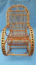 Fotel bujany dla osoby doros³ej. 115 x 60, wys. 47/70/107, siedzisko szr 48,g³êb. 43, wys oparcia 82 cm.