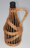 Oplot wiklinowy butelki o poj. 0,75 l. 11x25,  wzór