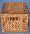 Skrzynka - szuflada z wikliny. 22 x 35 x 19